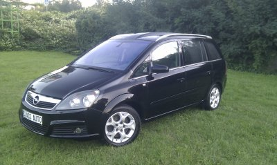 opel zafira 1 9l cdti 120cv 7 places cosmo pack an 12 2005. Black Bedroom Furniture Sets. Home Design Ideas
