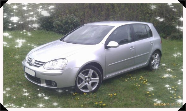 volkswagen golf v 5 tdi 140cv sport an 10 2006 130000kms boite dsg vendu le 05 05 2012 class. Black Bedroom Furniture Sets. Home Design Ideas