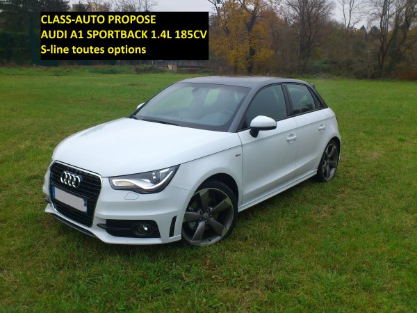 tres rare audi a1 sportback 1 4 tfsi 185cv bva s tronic 7. Black Bedroom Furniture Sets. Home Design Ideas