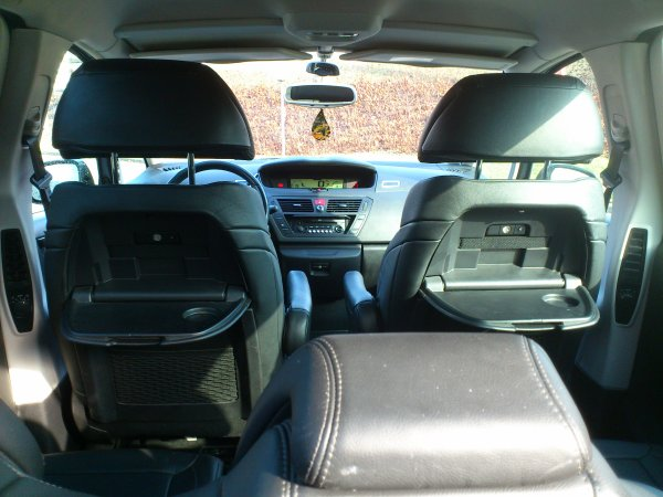 Citroen c4 picasso 1 6l hdi exclusive pack cuir an 05 2009 for Interieur cuir c4 picasso