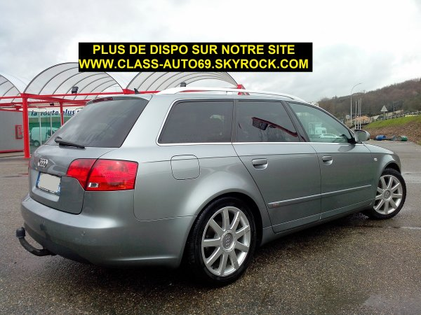 superbe audi a4 avant s line an 01 2005 195000kms toute r vis e vendu le 10 05 2013 class. Black Bedroom Furniture Sets. Home Design Ideas
