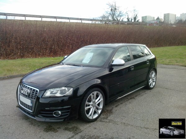 audi s3 sportback phase ii an 02 2009 38000kms dsg vendu le 19 01 2014 class auto 69. Black Bedroom Furniture Sets. Home Design Ideas