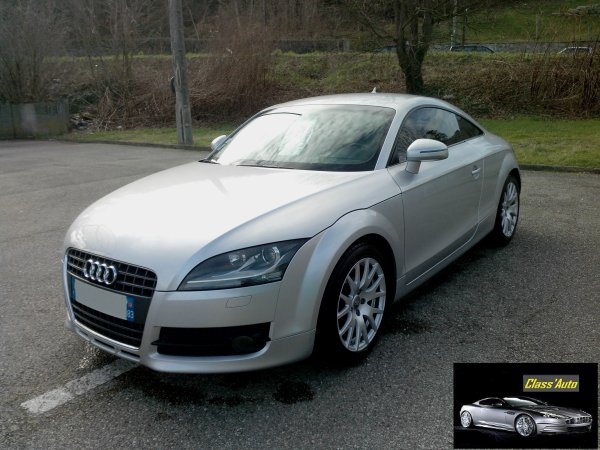 audi tt 2l tfsi an 2007 135000kms d origine en stock. Black Bedroom Furniture Sets. Home Design Ideas