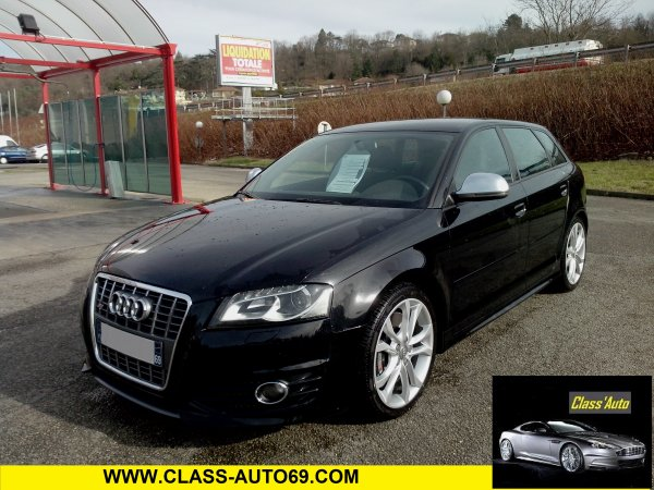 audi s3 sportback phase ii an 01 2009 41800kms vendu le. Black Bedroom Furniture Sets. Home Design Ideas