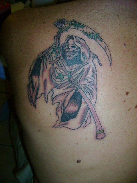 La faucheuse de pascal blog de passions tatouages - Tatouage la faucheuse ...
