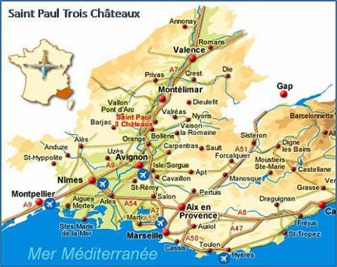 Plan ville saint paul trois ch teaux for Saint paul trois chateaux piscine