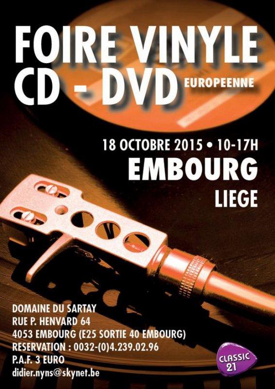 Foire du Vinyle d' Embourg le 18/10/2015
