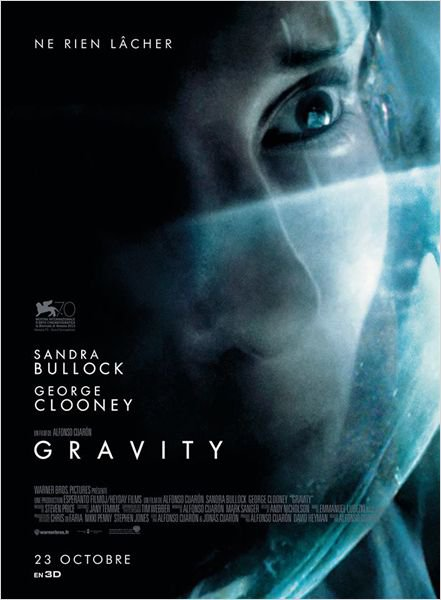 Gravity, le 23 oct au ciné