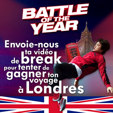 Battle of the Year - Pars � Londres