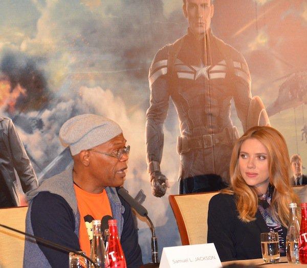 Conf�rence de Presse Captain America