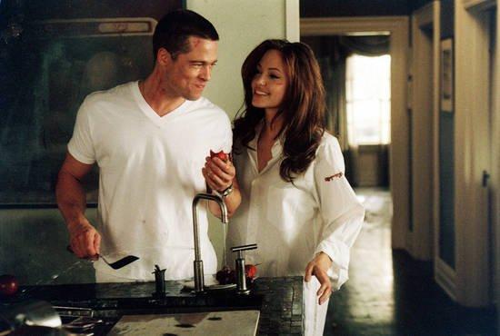 Brad Pitt et Angelina Jolie, de nouveau r�unis � l'�cran