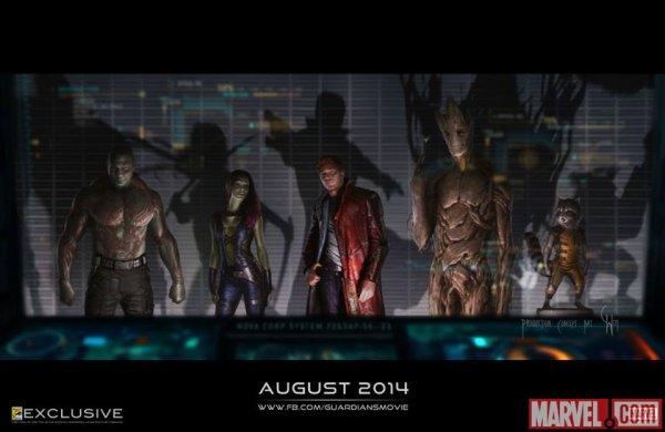 Les Gardiens de la Galaxie : le 13 Ao�t sur vos �crans !