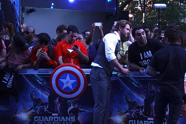 Thor s'est invité chez Les Gardiens de la Galaxie.