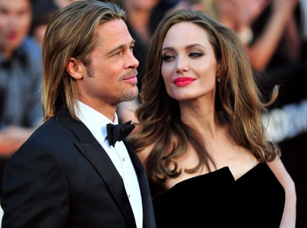 Brad Pitt et Angelina Jolie mariés