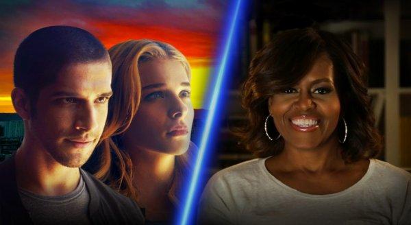 Chlo� Grace Moretz et Michelle Obama parodient DIVERGENTE !
