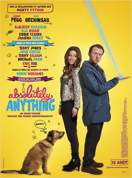 Gagne tes places pour Absolutely Anything !