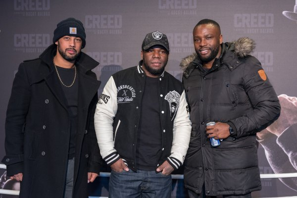 Avant-Premi�re de Creed : L'H�ritage Rocky