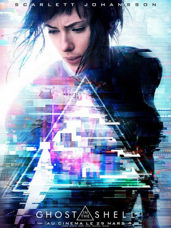 Ghost in the shell, le nouveau film avec Scarlett Johansson