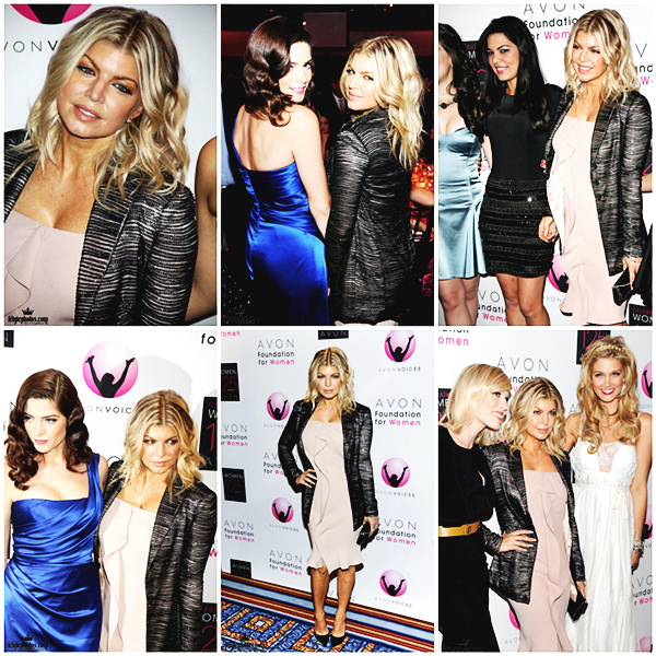 Fergie a participé à la Voix de la Fondation Avon pour le changement global , la nuit dernière ( 02) . Le gala a célébré le 125e anniversaire de la marque. (Delta Goodrem, Ashley Greene, Natasha Bedingfield et Ivete Sangalo été présente elle aussi )