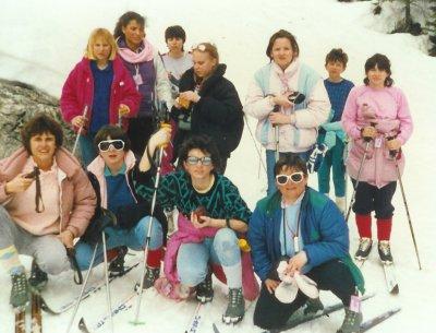 ecole bourg la reine ski f vrier 1986 o ville ecole bourg la reine. Black Bedroom Furniture Sets. Home Design Ideas
