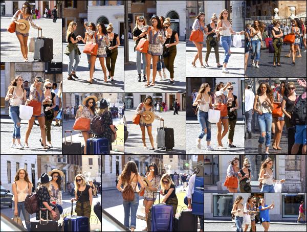- 06.09.16 - Shay Mitchell est aperçue en compagnie de ses amies Ashley et Troian dans les rues de - Rome ! Les filles étaient présente à Rome pour fêter l'enterrement de vie de jeune fille de Troian. Durant le petit séjour, Shay à postée des vidéos sur snapchat.   -