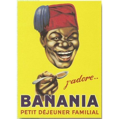 publicit banania l 39 histoire c 39 est un conte de faits. Black Bedroom Furniture Sets. Home Design Ideas