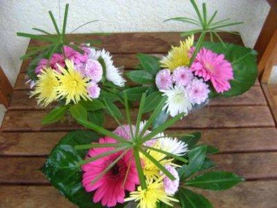 suite petit centre de table ikebana la voie des fleurs. Black Bedroom Furniture Sets. Home Design Ideas