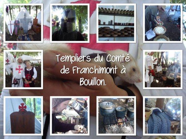 F�te m�di�vale �   Bouillon 2016.( templiers du comt� de Franchimont ^^)