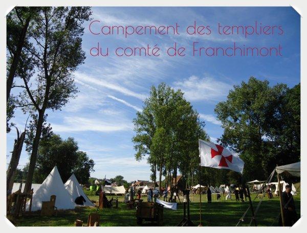 campement des templiers du comt� de Franchimont suite......