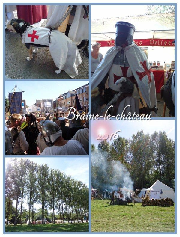 Les rencontres médiévales à Braine-le-Château ^^