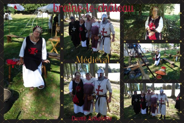 Les rencontres médiévales à Braine-le-Château 2016