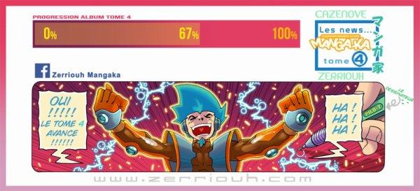 WIP couleur ! chroniques d'un Mangaka t4 !! ^_^