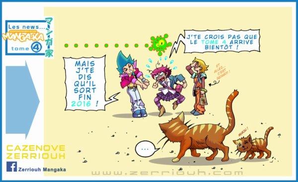 Chroniques d'un Manga-Ka tome 4 WIP !!! ;)