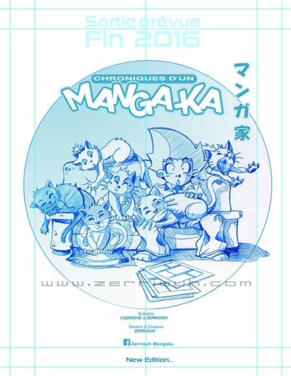 Chroniques d'un Mangaka T4 Mangaka...WIP !! ^_^