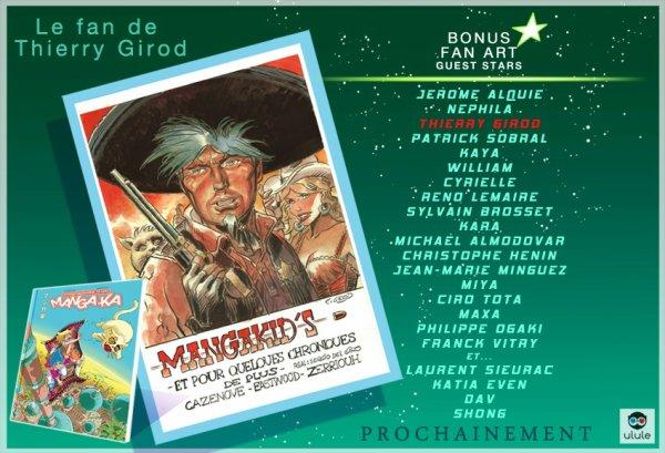 Fan Art Thierry Girod Chroniques d'un Manga-Ka 4 ! ^_^