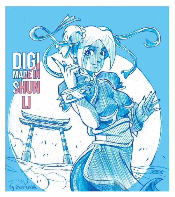 DIGI Shun li Chroniques d'un Mangaka 4 !!!!!! ^_^
