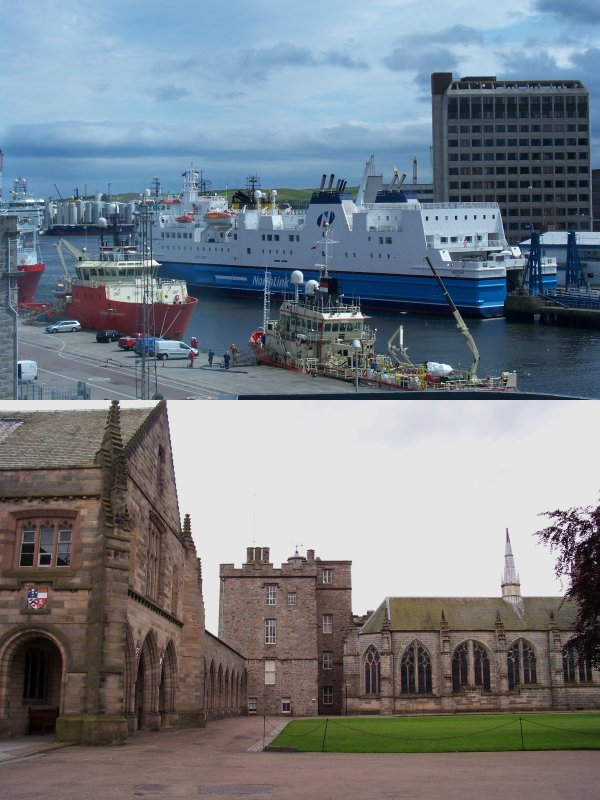 Scotland 2012 (part 1/3) : Aberdeen
