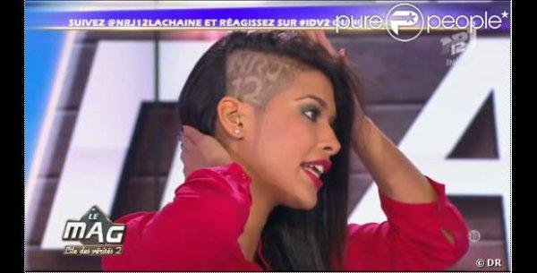 Ayem se rase une partie des cheveux pour NRJ12