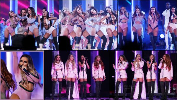 """"""" 11/12/2016 ─ Les Little Mix donnaient une performance lors de la finale de l'émission « X-Factor UK » à Londres Pour cette occasion, les Little Mix ont performées plusieurs titres dont Oops (en featuring avec Charlie Puth) et leur nouvelle chanson intitulée Touch.  """""""