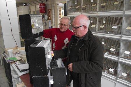Harry Boschman en Michel Slagmulder - Specialisten in conversatie te Bergharen (NL)