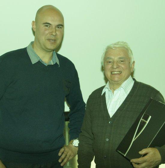 Huldiging V.v.N.K.leden - C.O.M.Gold Medal Winners 2012 door Voorzitter Gerry Mertens
