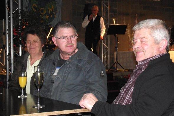 V.v.N.K. te Mechelen - Sfeerbeelden Openingsreceptie - Kleurliefhebbers in Dialoog