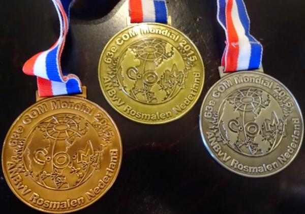 V.v.N.K. Statutaire vergadering Geel (B) 29.03.2015 > Huldiging Gouden Medaillewinnaars