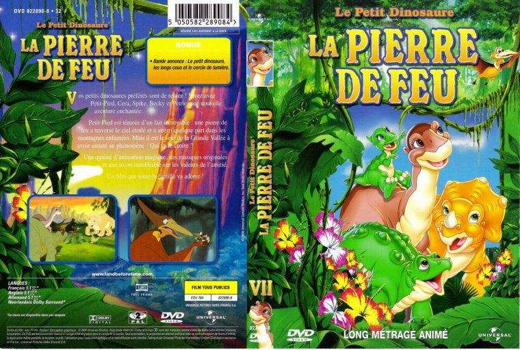 Dvd dessins anim s le petit dinosaure et la pierre de feu disney baby face et cie - Petit pieds dinosaure ...