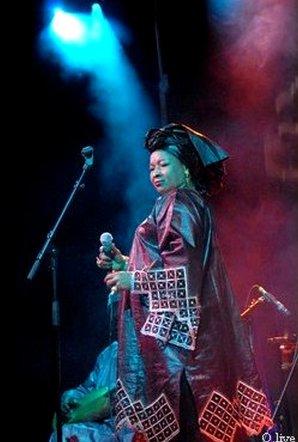 Fadima Kouyaté la grande griotte à la voix d'or