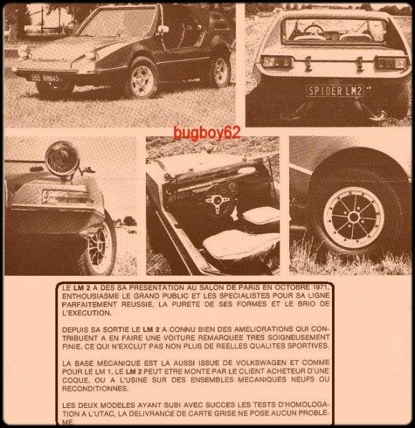 nouveaut� ! buggy LM2 !
