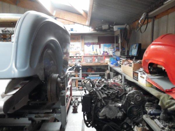 teddy's garage