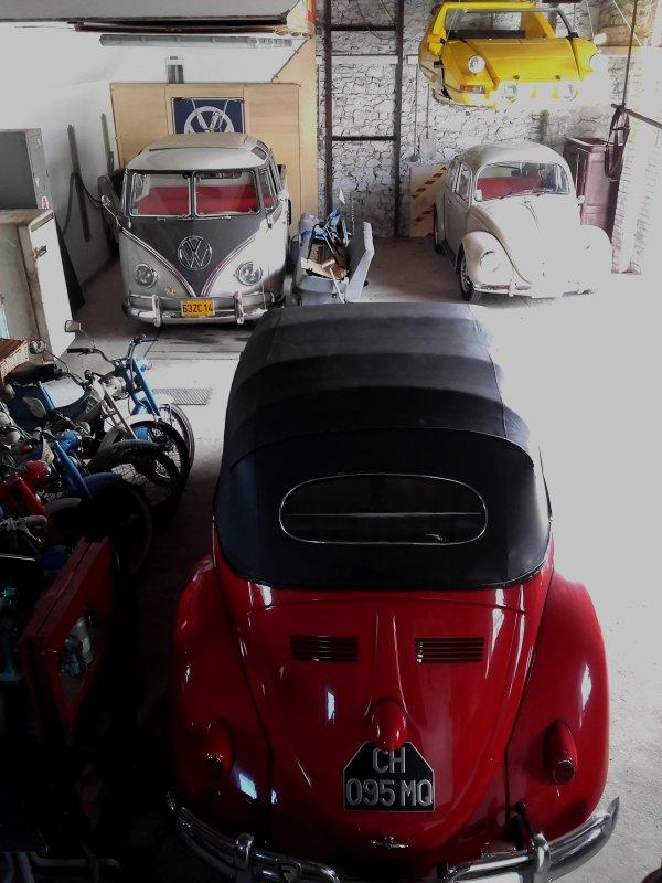 Garage sc�ne