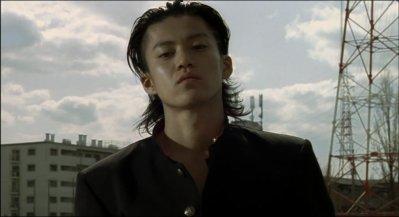 Commençons par la tête de Genji (Oguri Shun avec une coupe de délinquant japonais ^^)