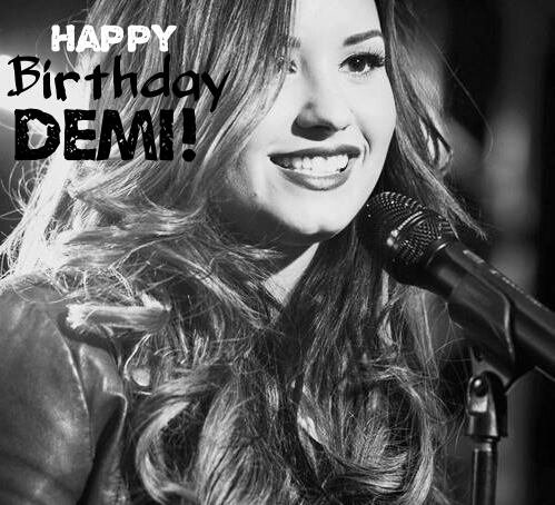 Happy birthday demi ❤
